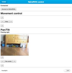 Web-based UI