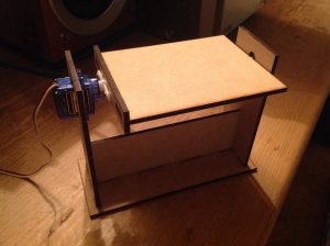 Figure 7: Assembling the servo mount